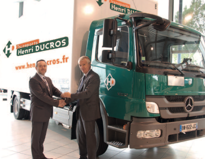 Acquisition de notre premier camion hybride
