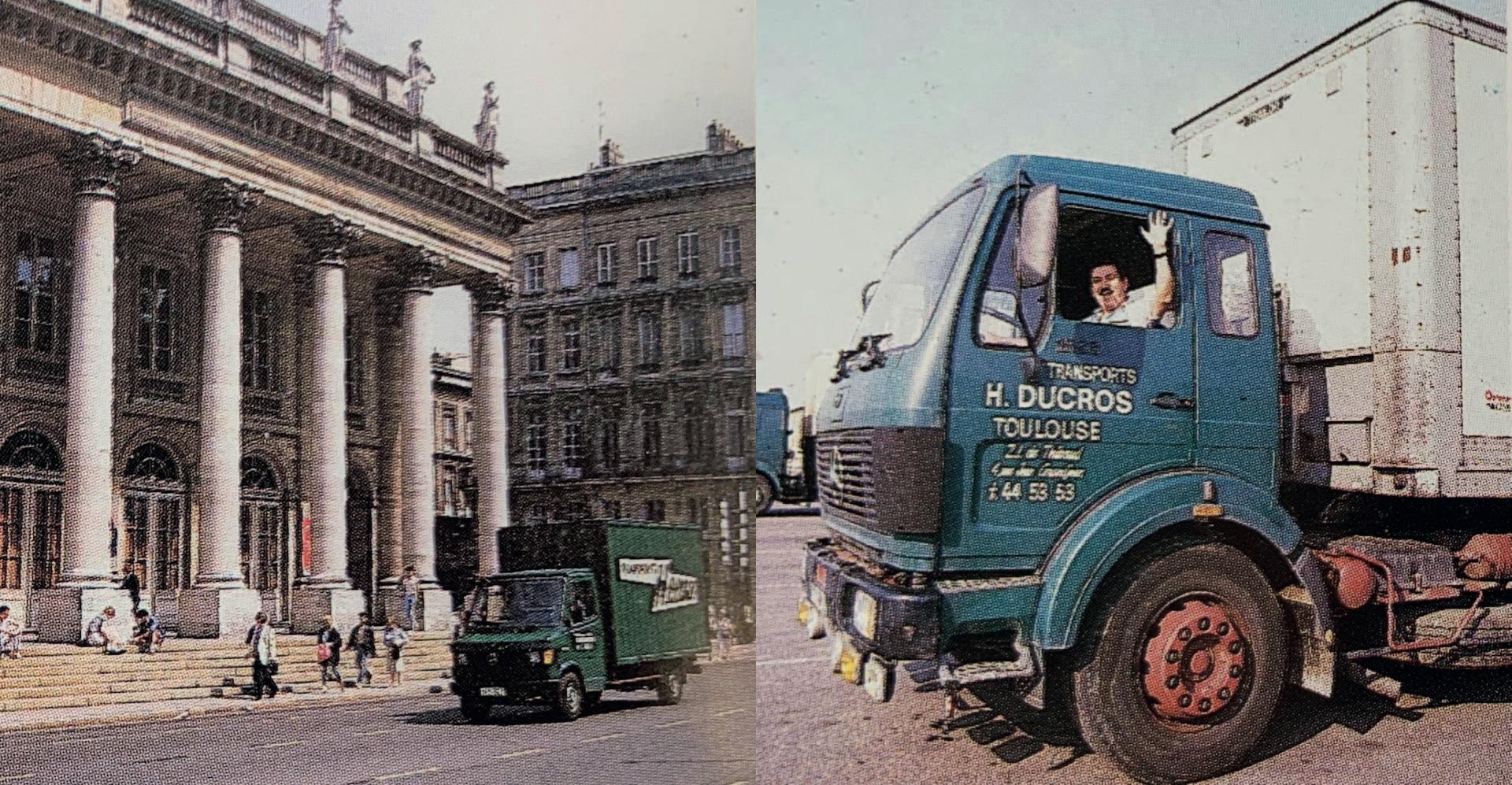 A 27 ans, Henri Ducros crée les Transports H.Ducros et ouvre deux agences à Bordeaux et Toulouse